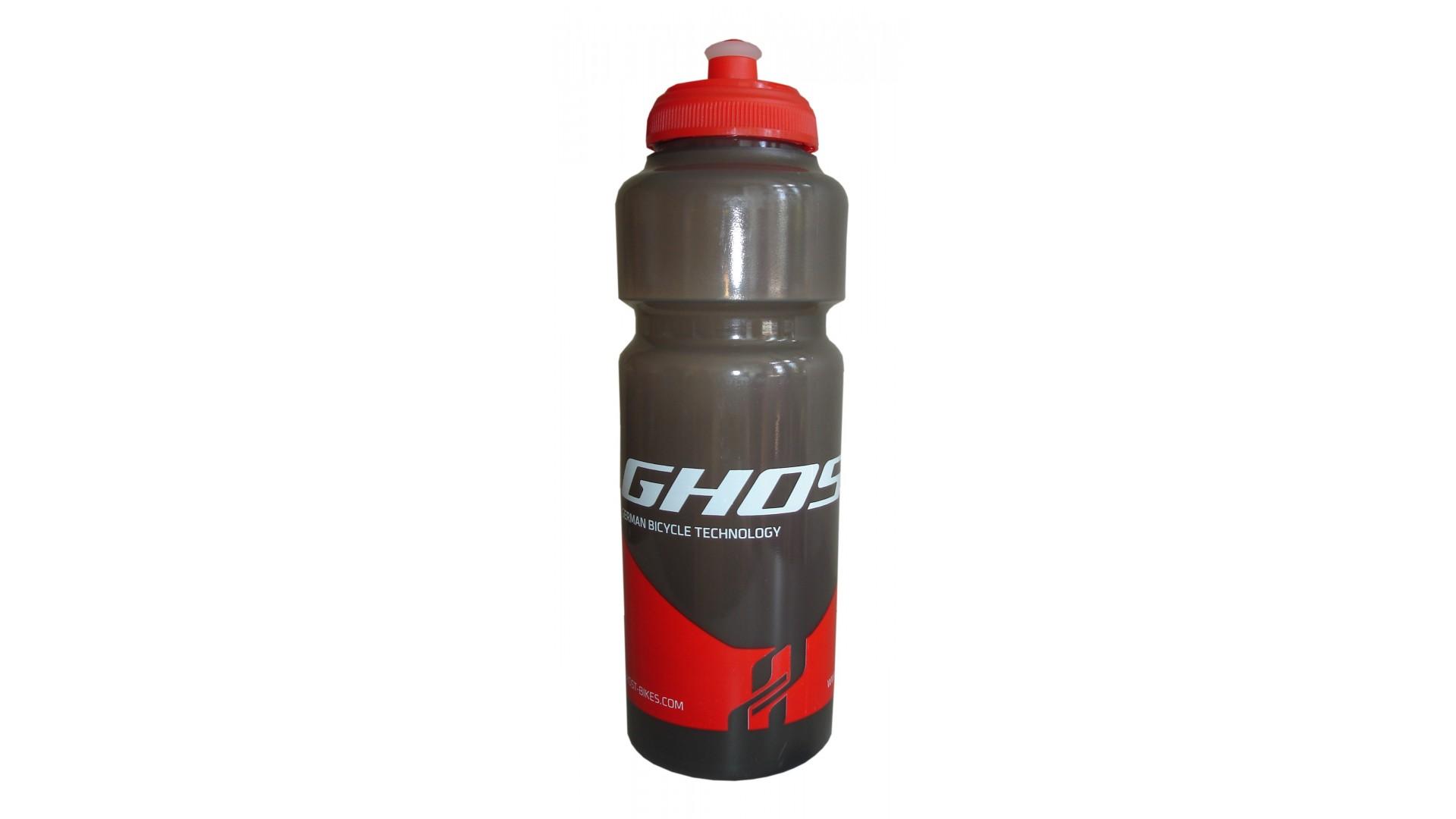 Фляга Ghost 750 ml непрозрачная black/red