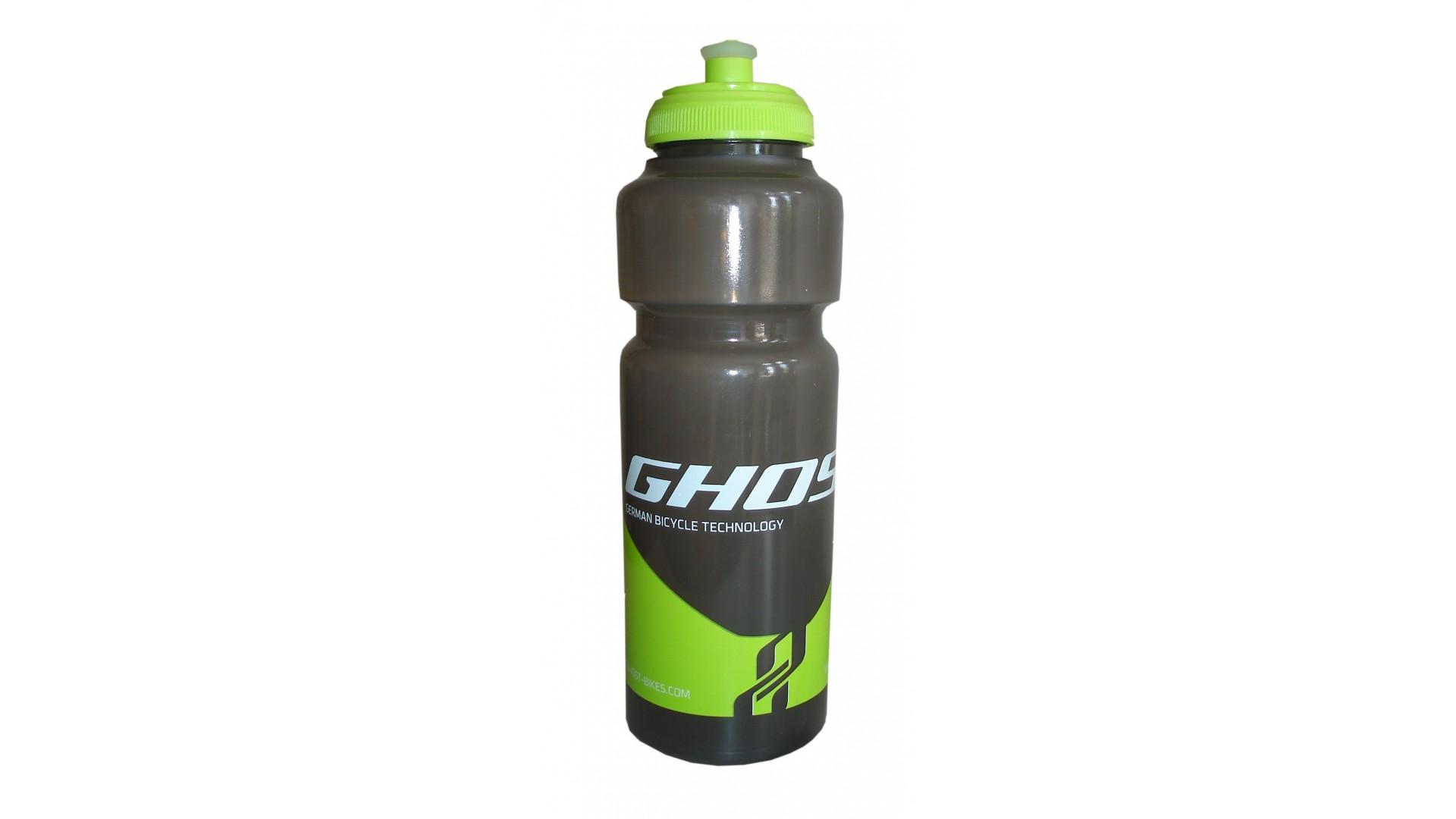 Фляга Ghost 750 ml непрозрачная black/lime green