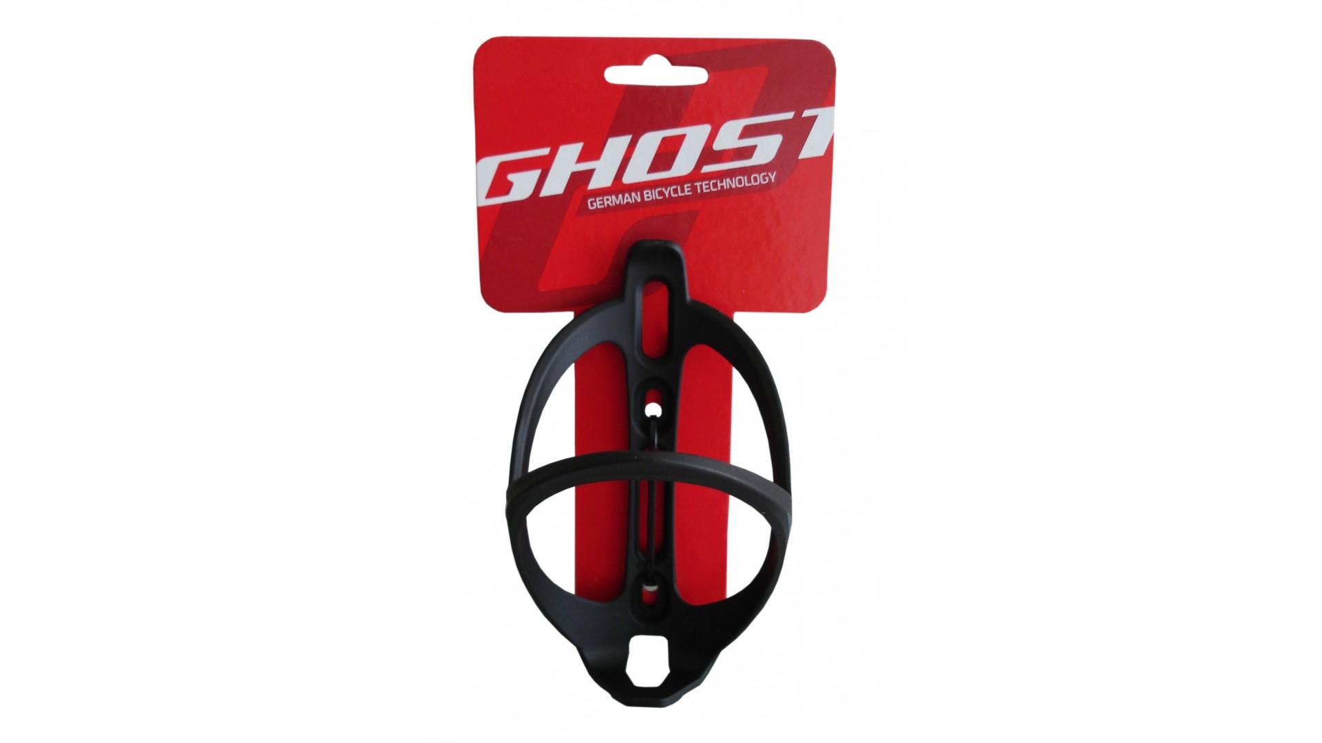 Флягодержатель Ghost матово черный