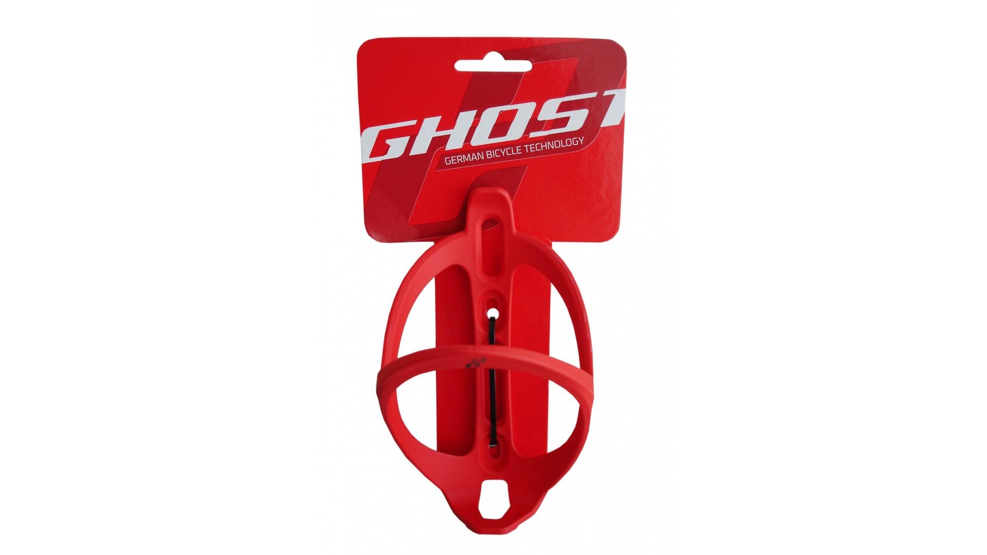 Флягодержатель Ghost красный