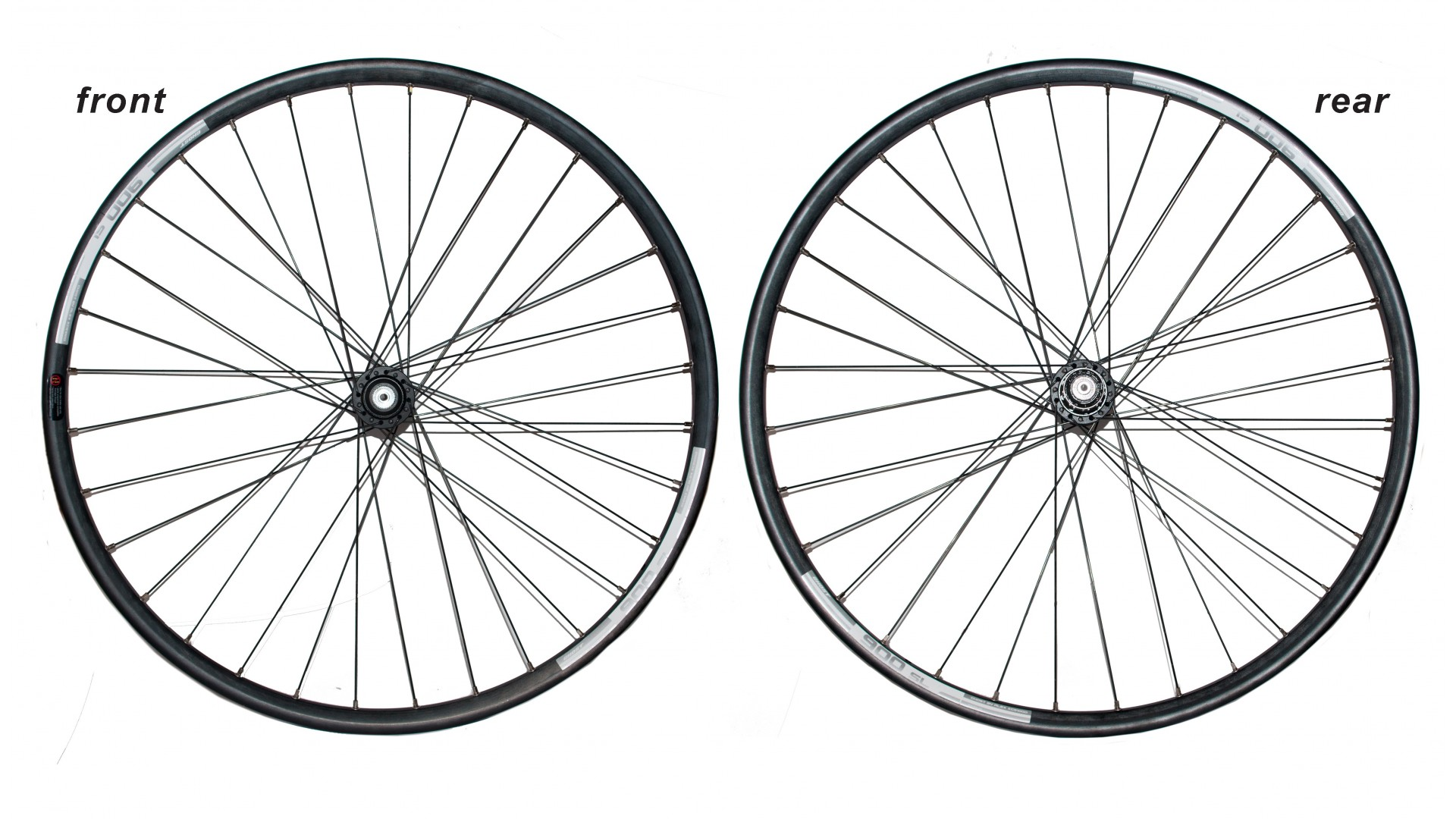 Комплект колес под диск ALEX 100D GHOST, Centerlock black 26