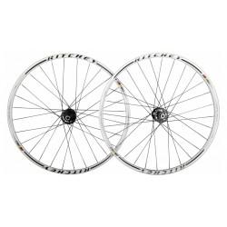 """Комплект колес MTN WCS Disc Ritchey White F++R Alloy Shimano 26"""""""