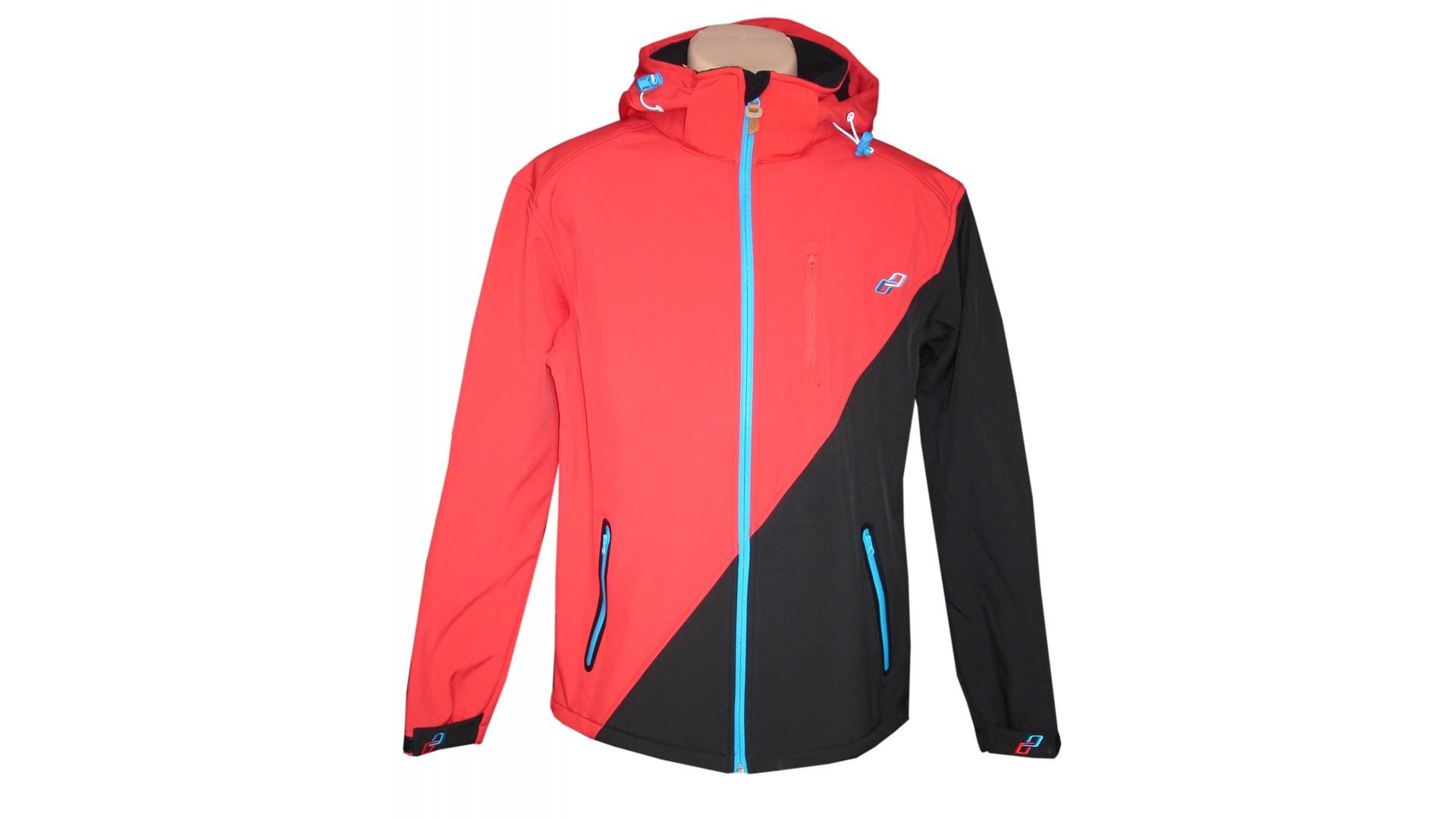 елокуртка Ghost с капюшоном мужская red/black/blue год 2015 общий вид
