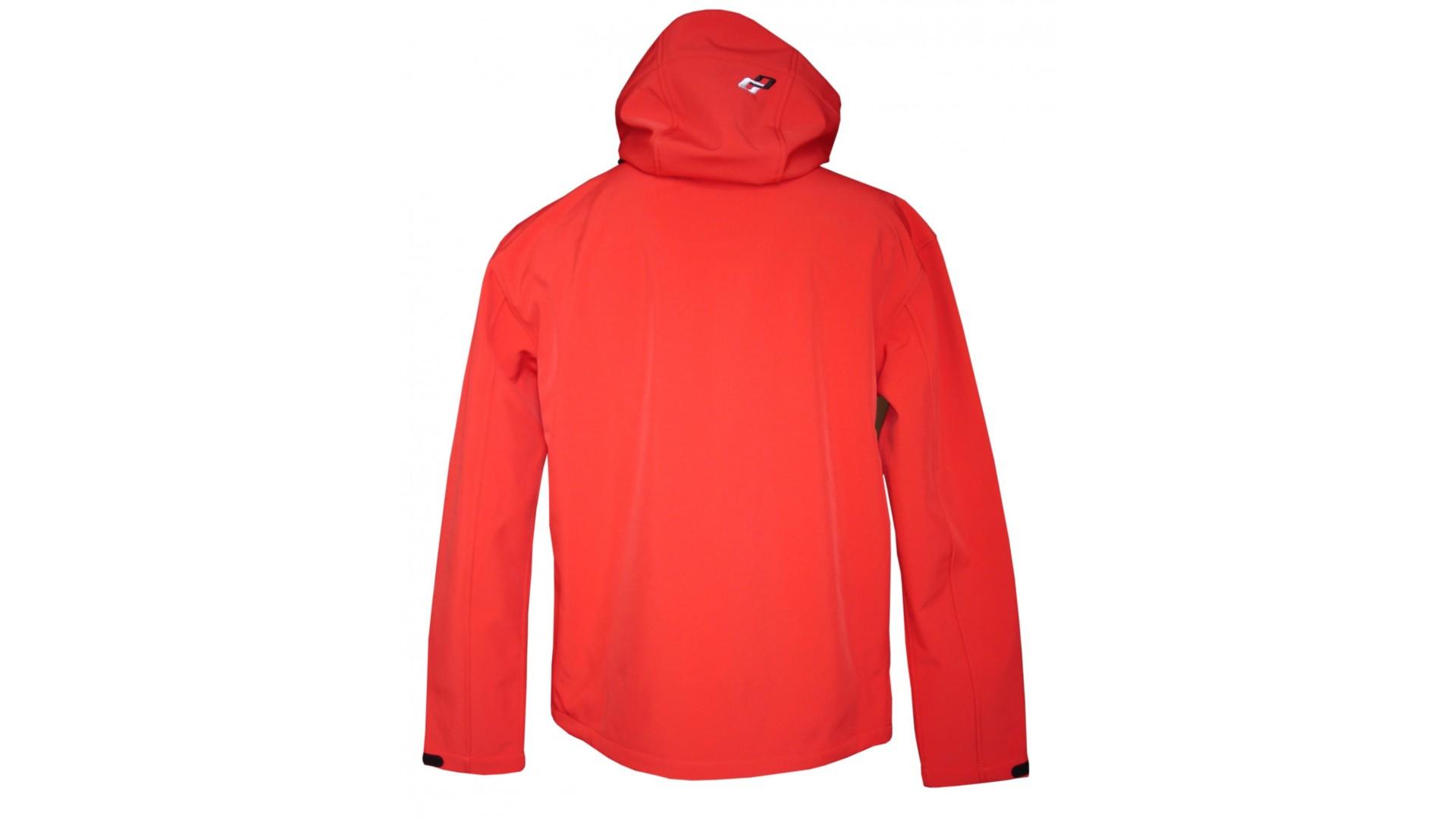 Велокуртка Ghost с капюшоном мужская red/black год 2014
