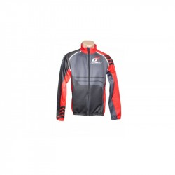 Велокуртка Ghost Winter jacket black/red демисезонная год 2014 вид спереди