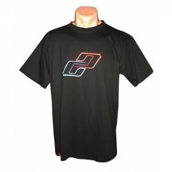 Футболка Ghost T-shirt Double G blue/red год 2015 вид спереди
