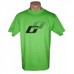 Футболка Ghost T-shirt limegreen год 2015 вид спереди