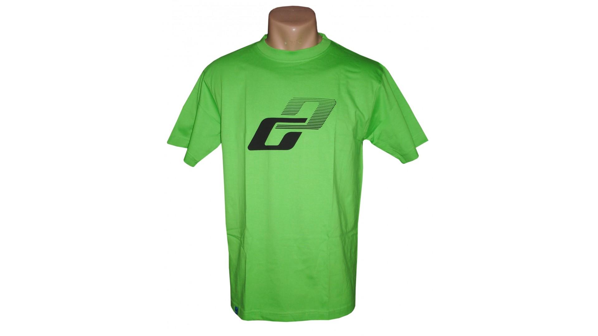 Футболка Ghost T-shirt limegreen год 2015 вид спереди