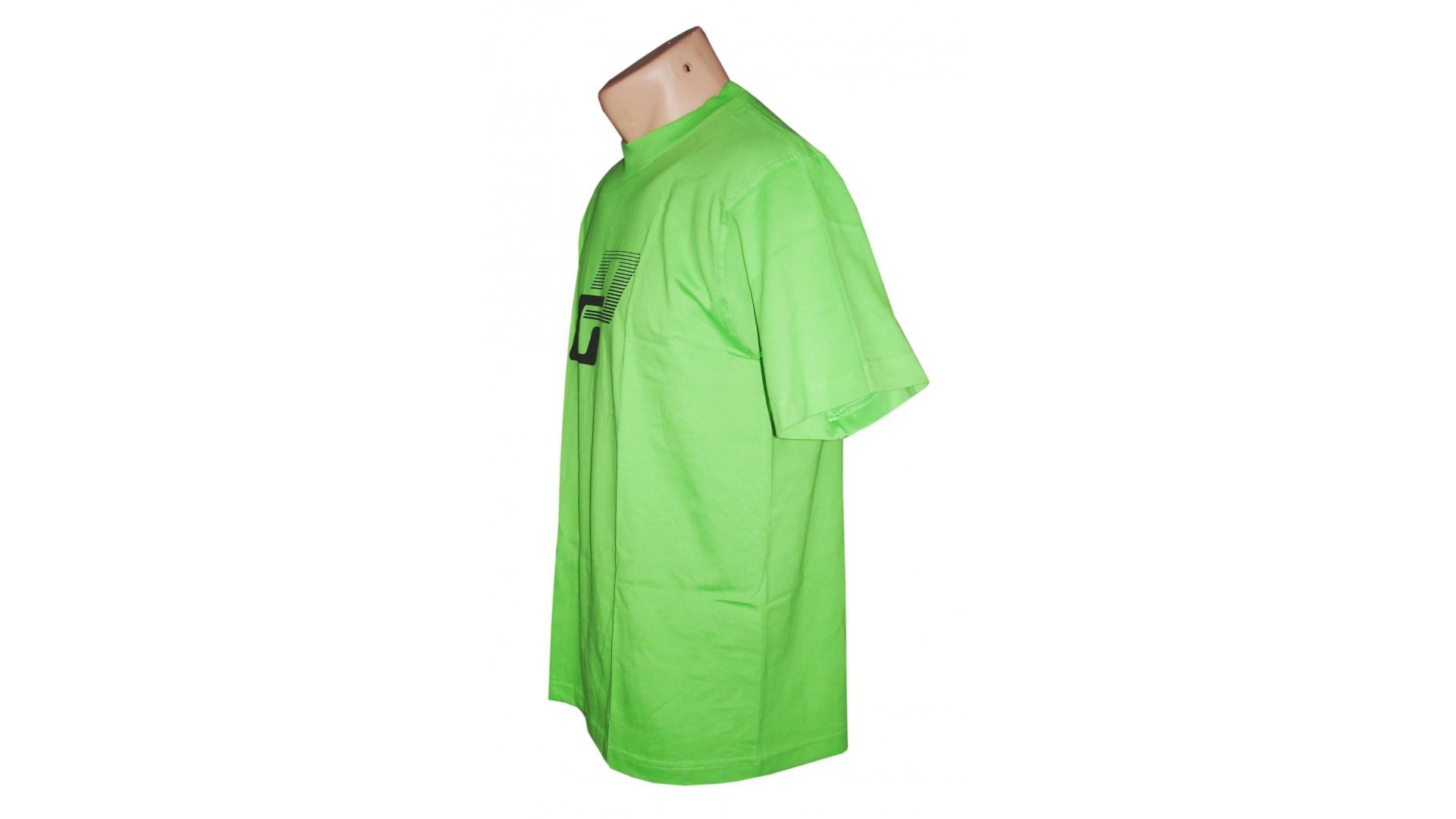 Футболка Ghost T-shirt limegreen год 2015 вид сбоку