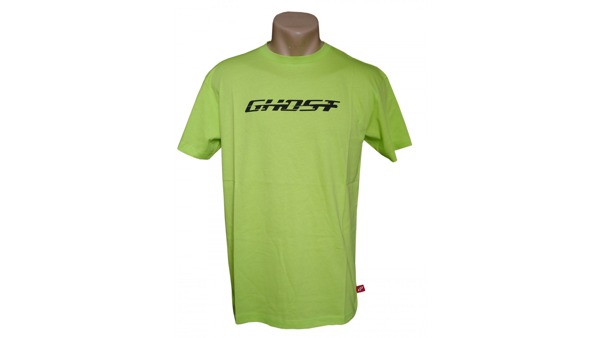 Футболка Ghost T-shirt lime год 2014 вид спереди