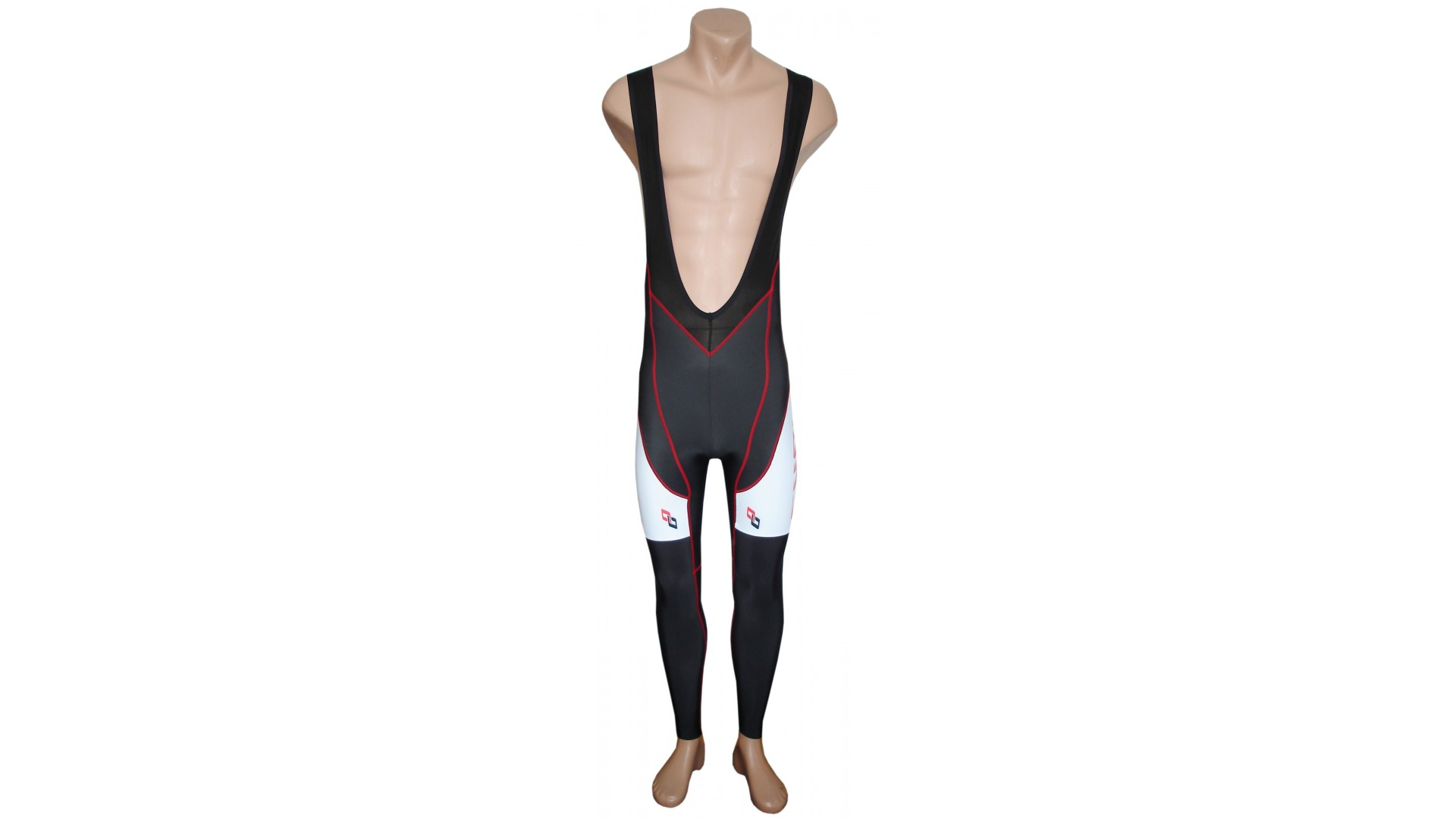 Велорейтузы Ghost Pro Bib Tights год 2016 вид спереди