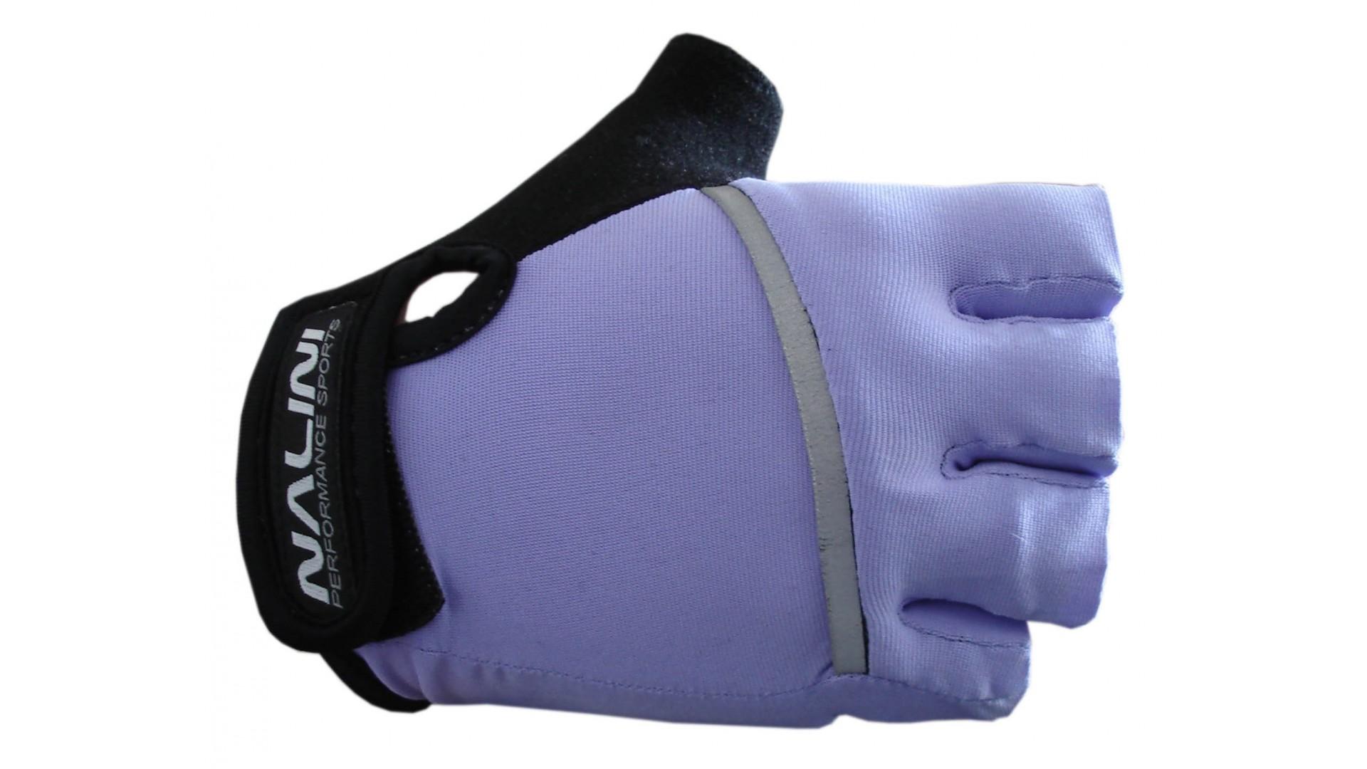 Велоперчатки Nalini Fenicottero летние фиолетовые