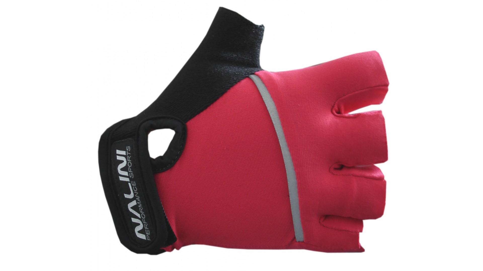 Велоперчатки Nalini Fenicottero летние красные