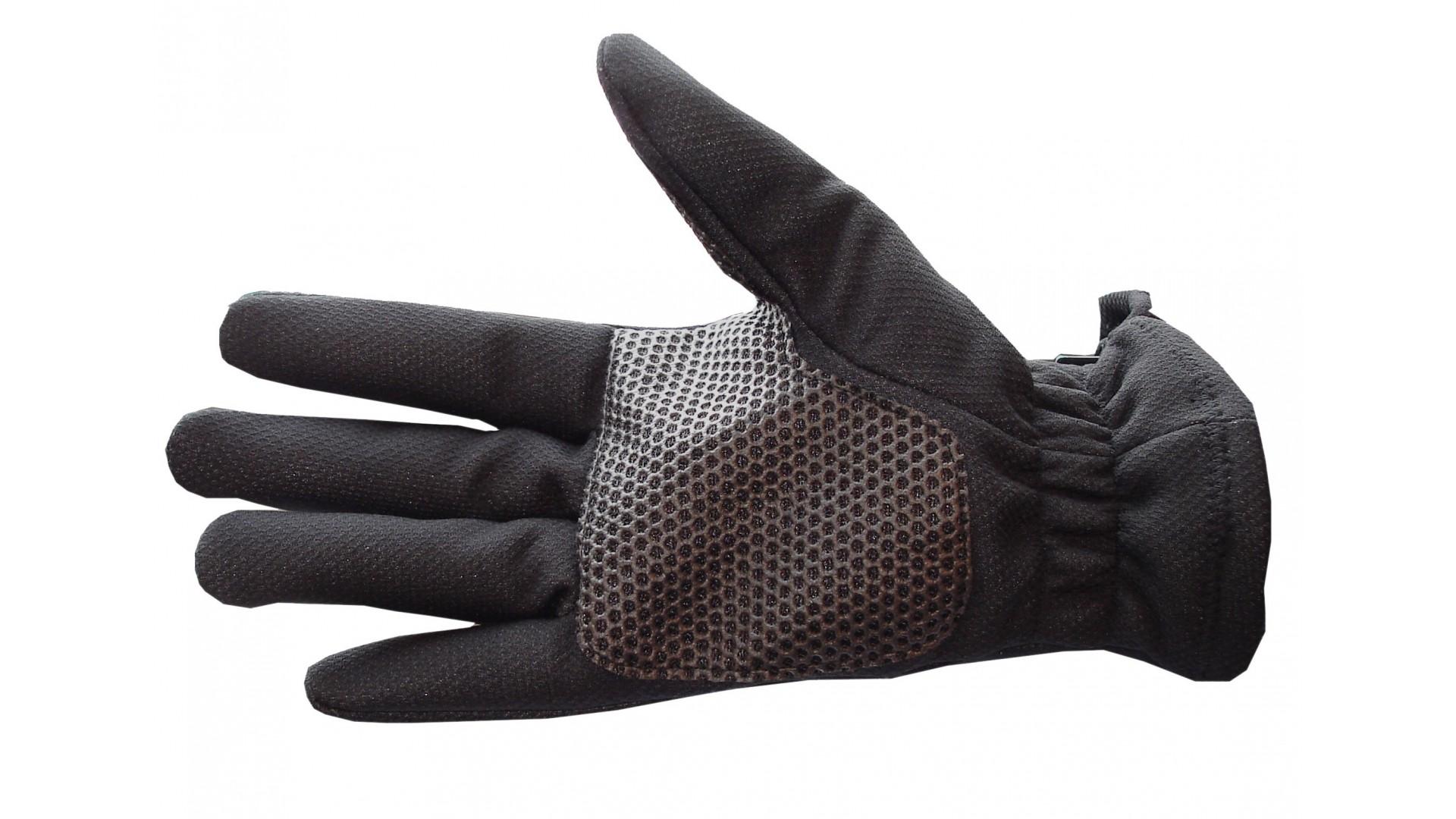 Велоперчатки Nalini Fiamma зимние черные